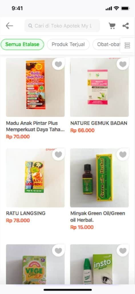 Pilihan Produk Herbal Tokopedia - Apotek My Life Farma